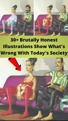 30+ #Brutally Honest #Illustrations Show What's #Wrong With Today's #Society