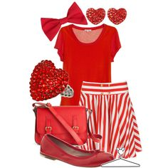 """Dapper Dan - Red"" by lalakay on Polyvore"