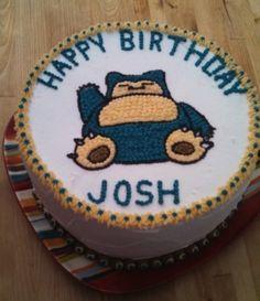 Snorlax birthday cake FrozenGiant's (aka Josh.... | I Heart ...