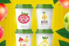 Organic food labels and logos #ad , #elements#graphic#lettered#hand Funny Fruit, Healthy Snacks, Healthy Recipes, Organic Logo, Best Resume Template, Fresh Milk, Logo Food, Kids Logo, Food Labels
