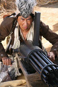 Benkei breaks out his big gun!  Sukiyaki Western Django.