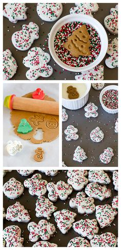 Gingerbread Holiday Circus Cookies