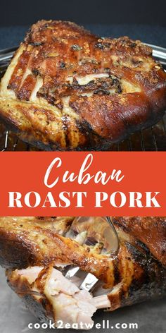In Cuban Culture, roast pork (lechon asado) is the meal served on all special occasions. Christmas, Weddings, New Year's… roast pork is on the menu. This is a traditional recipe using a homemade mojo marinade. Cuban Pork Roast, Pork Roast Recipes, Pork Tenderloin Recipes, Pork Ribs, Meat Recipes, Mexican Food Recipes, Cooking Recipes, Pork Loin, Marinade For Pork Roast