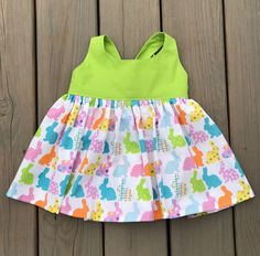 Bunny Tie Back Top, Girls Easter Top, Lola Top by AudreyandAverie on Etsy https://www.etsy.com/listing/506705830/bunny-tie-back-top-girls-easter-top-lola