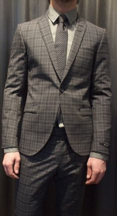 Tiger of Sweden plaid suit $899 from Gotstyle Menswear.