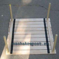 походный столик в собранном виде