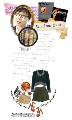 """""""20. Kim Young-ha"""" by chomiczynka ❤ liked on Polyvore"""