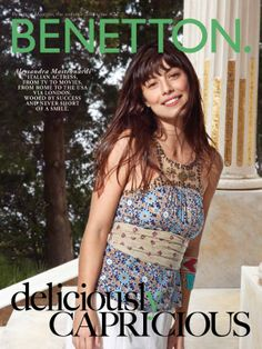 Benetton Magazine, the summer 2014 issue #2 - Alessandra Mastronardi. Find it out on http://www.benetton.com/magazine-may2014/