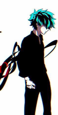 Izuku Midoriya - My Hero Academia \ ^^ / Boku No Hero Academia, My Hero Academia Memes, Hero Academia Characters, My Hero Academia Manga, Fanarts Anime, Manga Anime, Arte Emo, Deku Cosplay, Villain Deku