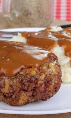 Weight Watchers Very Best Salisbury Steak Recipe - ***Didn't like the gravy.
