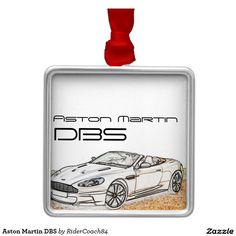 Aston Martin DBS Metal Ornament