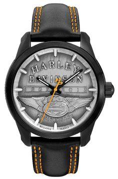 Harley-Davidson® | 78A113 | Harley-Davidson® Mens 110th Anniversary 78A113 By Bulova®