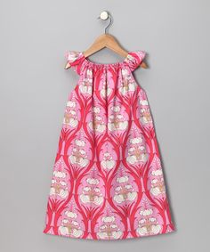 Haley and the Hound Passion Pink Dress - Infant, Toddler & Girls