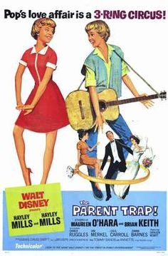 vintage parent trap poster