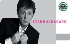 Sir Paul McCartney was the first artist we signed to our Starbucks-owned record label back in 2007.