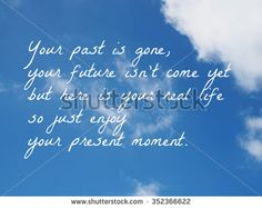 life quote. Inspirational quote. Motivational background on sky background