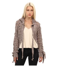 Vivienne Westwood Anglomania Chunky Hooded Cardigan
