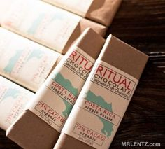 Ritual Chocolate- dark chocolate crafted from bean to bar in Denver, CO