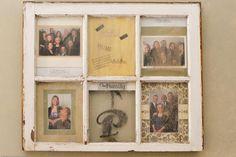 Custom window frame picture frame