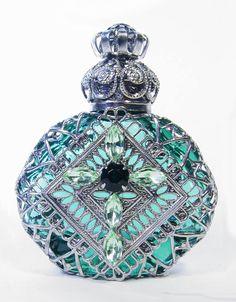 Perfume bottle handmade in the CZECH Republic