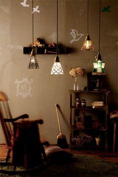 【楽天市場】【あす楽対応】天井照明 Stained glass-pendant(ティアーズタイプ)ティアーズ AW-0374V 天井照明 ペンダント照明送料無料(送料込):Re:CENOインテリア