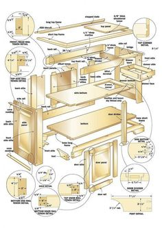 651 Best Free Woodworking Plans Images On Pinterest In