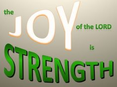 Nehemiah 8-10 Joy of the Lord-green - Christian Wallpapers