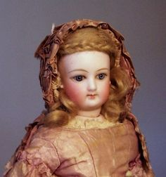 Amazing all original French Fashion Lady, Antique Doll SOLD from Faraway Antique Shop on Doll Shops United http://farawayantiqueshop.com