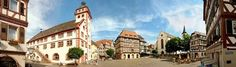 Mosbach, Germany. I lived here just under a year in 1981-82. Beautiful place!