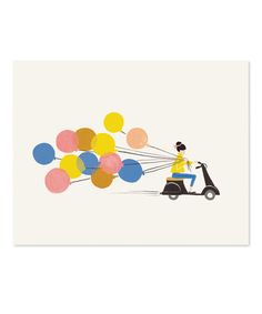 Balloon Ride Print by Rifle Paper Co.