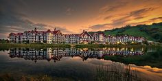 The Blue Mountains Westin Hotel by Jeff S. PhotoArt #Landscape #Photo #LandscapePhotography #Photography #PhotoOfThe…
