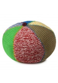 poef gebreid 40x47cm | lief! lifestyle Knitted Hats, Arts And Crafts, Knitting, Crochet, Lifestyle, Tricot, Breien, Stricken, Ganchillo