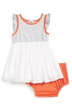 Splendid Colorblock Sundress & Bloomers (Baby Girls) available at #Nordstrom