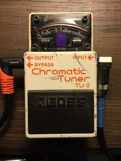 Boss Tu 2 Chromatic Tuner Guitar Effect Pedal TU2 Tu 2 2782 No Reserve | eBay