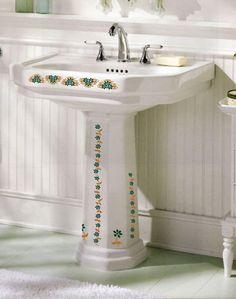 Charmant Heart Waffle Iron. Bathroom DecalsThe DaisyPedestal SinkReally ...