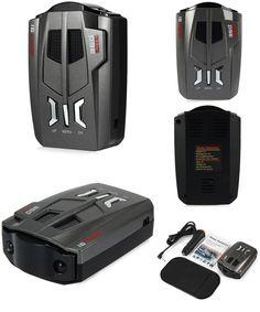 [Visit to Buy] V9 Car Laser Radar Detector 360 Degrees 16 Band LED Display Speed Russia / English Voice Alert Warning Anti Radar Detectors #Advertisement