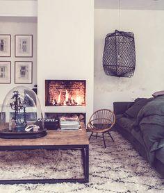 decor, interior inspir, fireplac, milk magazine interior, magazines