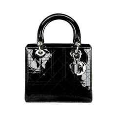 Lady Dior bag ($1,220) ❤ liked on Polyvore