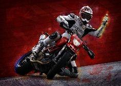 Motocykl, Ducati, Motocyklista, Motor, Pasja