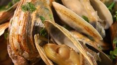 So simple, but so good - steamed clams served in their own liquor. Serve with a crusty Italian bread, or over pasta.