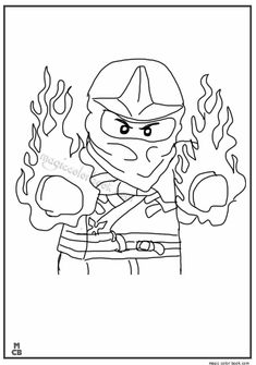 Lego Coloring Pages free printable 03