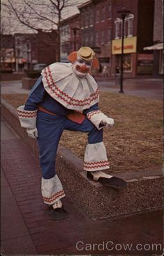Mickey De Clown Wheeling West Virginia Circus