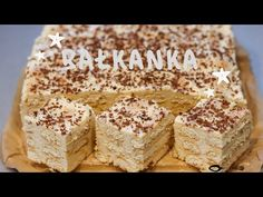 Krispie Treats, Rice Krispies, Polish Recipes, Vanilla Cake, Food And Drink, Cookies, Baking, Sweet, Youtube