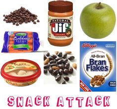 Healthy snacks to keep in your dorm room!