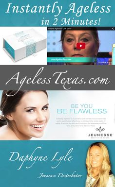 Within 2 minutes, Instantly Ageless reduces the appearance of under-eye bags, fine lines, wrinkles and pores, and lasts 6 to 9 hours. Under Eye Bags, It Works, Texas, Learning, Nailed It, Education, Teaching
