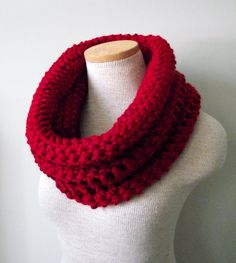 The Yorkshire Cowl in Tampa Spice. $38.00, via Etsy.