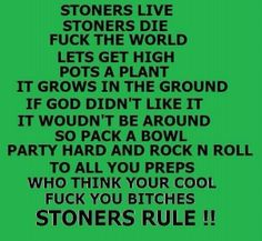 Weed poems funny