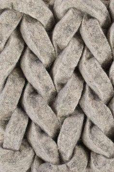 boiled wool braids