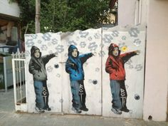 tel aviv street art - Google Search