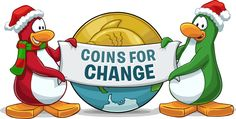 Club Penguin's Coins for Change is Way for Kids to Give Back Through Online Play - Tech Savvy Mama Global Citizenship, Club Penguin, Actions Speak Louder Than Words, Charity Event, Youth Ministry, Giving Back, Disney Family, Penguins, Coins